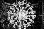 chandelier, light, interior