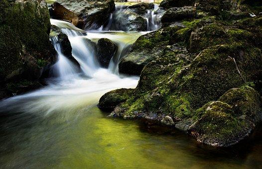 Waterfall, Bach, Ireland, Galeway