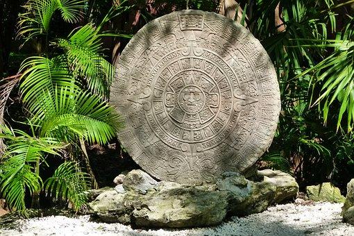 The Aztec Calendar, Mexico, Stone