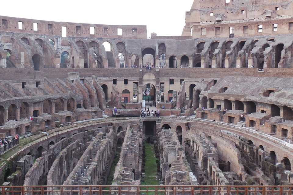 Rome Colosseum Gladiator Free Photo On Pixabay