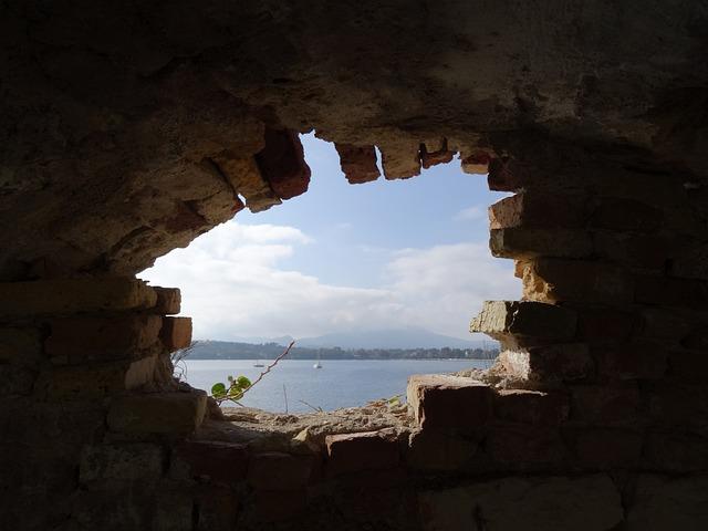 Free Photo Hole Bricks Aperture Brick Wall Free