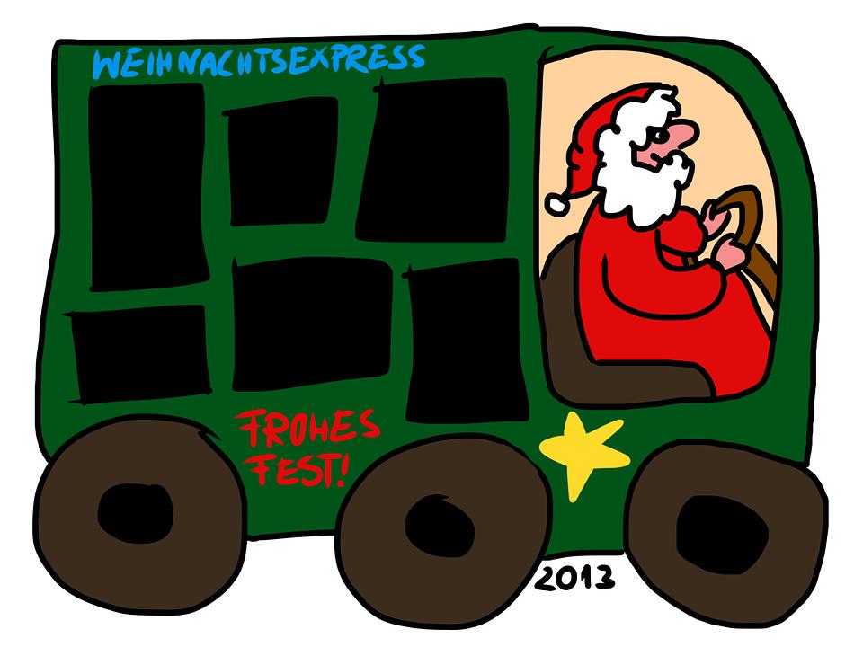 Navidad Express Plantilla Marco · Imagen gratis en Pixabay
