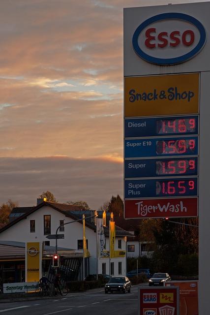 Free Photo Gasoline Prices Petrol Fuel Free Image On