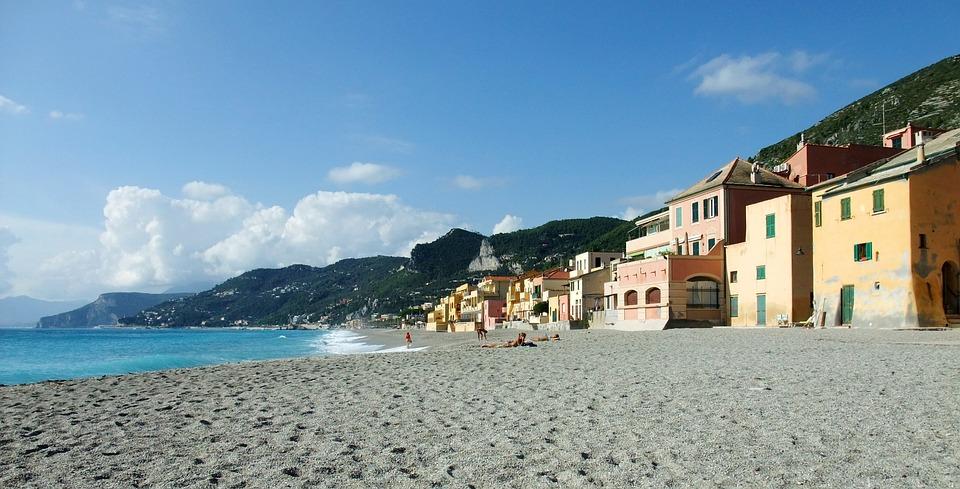 Varigotti, Italy, Beach, Vacations
