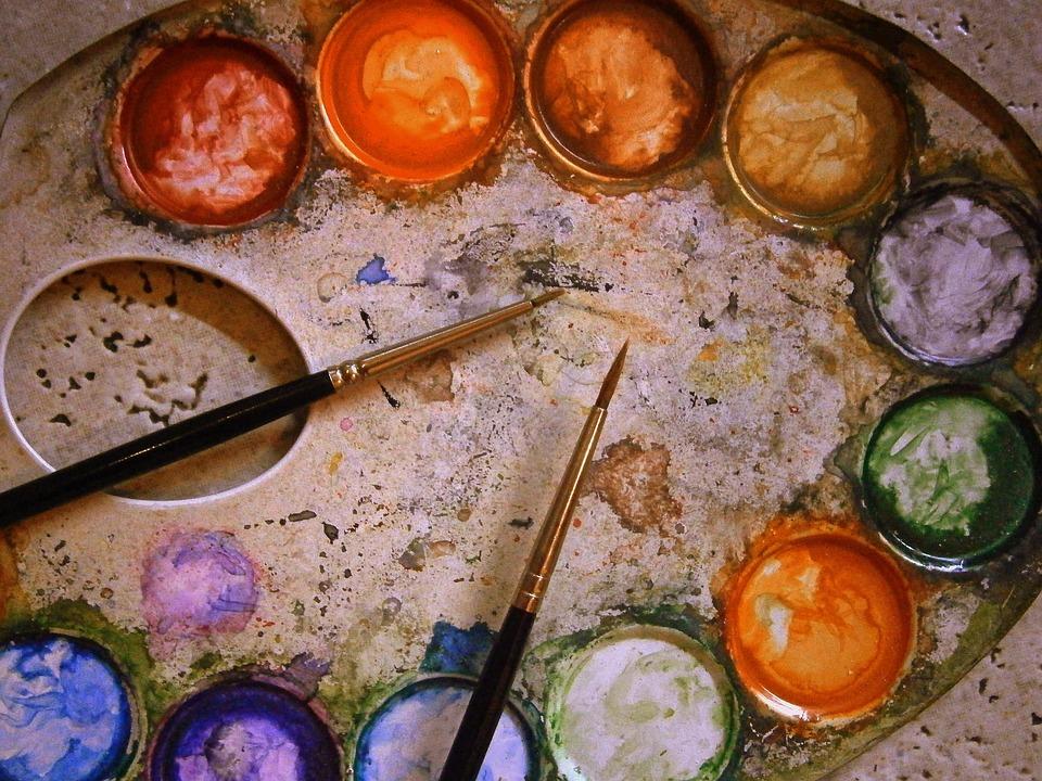 Photo gratuite palette de couleurs gamme m tal image - Palette gratuite pour particulier ...