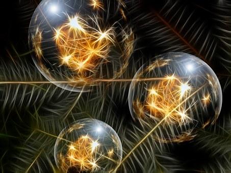 Ornement De Noël, Glaskugeln
