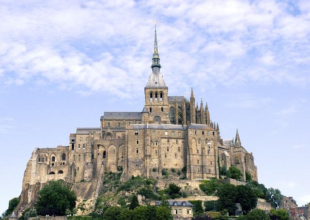 free photo mont saint michel normandy free image on