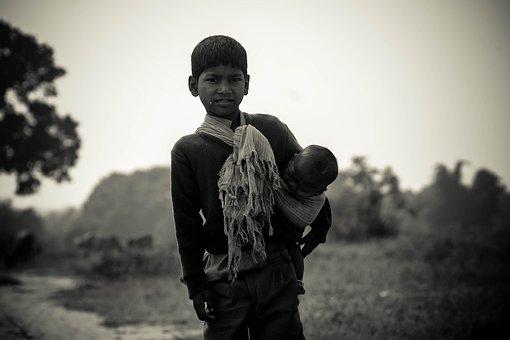 Child, Boy, Baby, Poor, Person, Indio