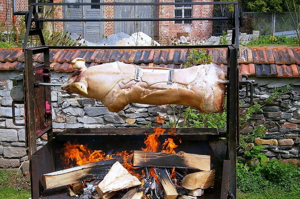 豚の丸焼き 肉 豚 Pixabayの無料写真
