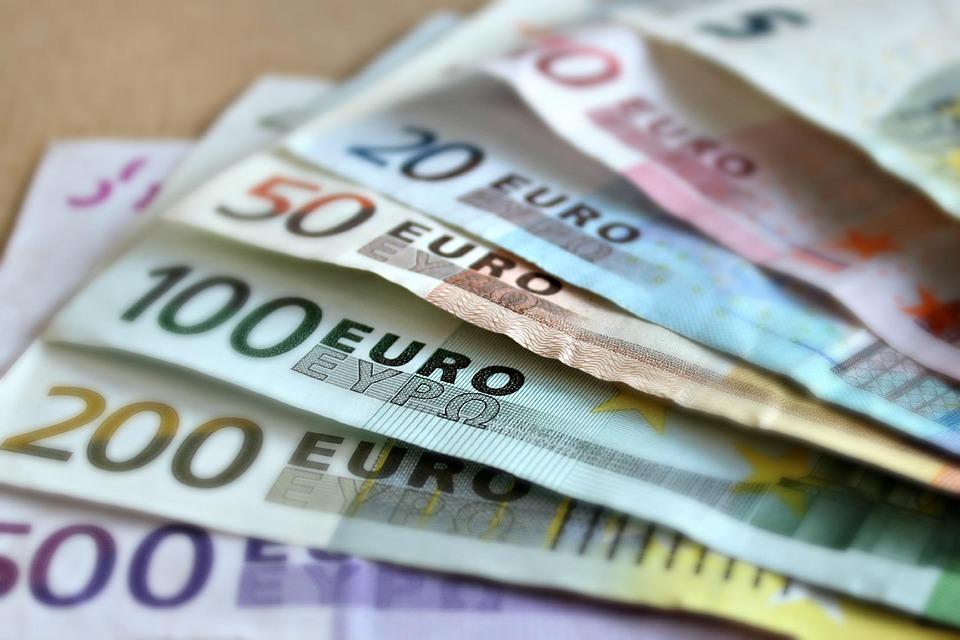 紙幣, ユーロ, 札, 紙のお金