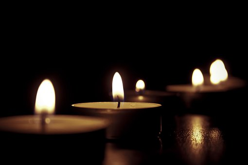 Candles, Tealights, Flame, Tea Candles