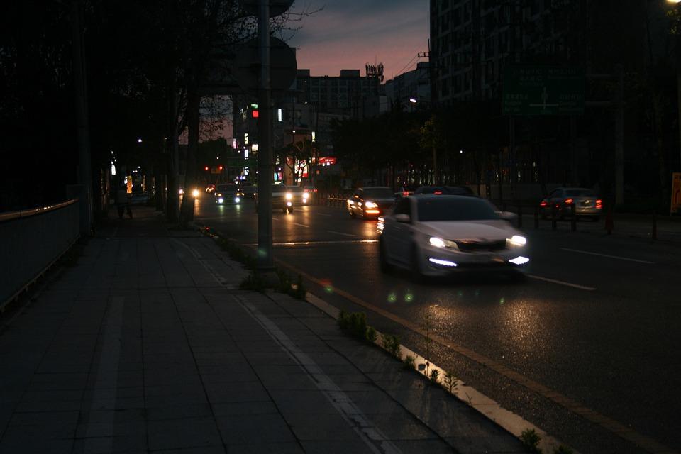 Night View Road Driveway \u00b7 Free photo on Pixabay