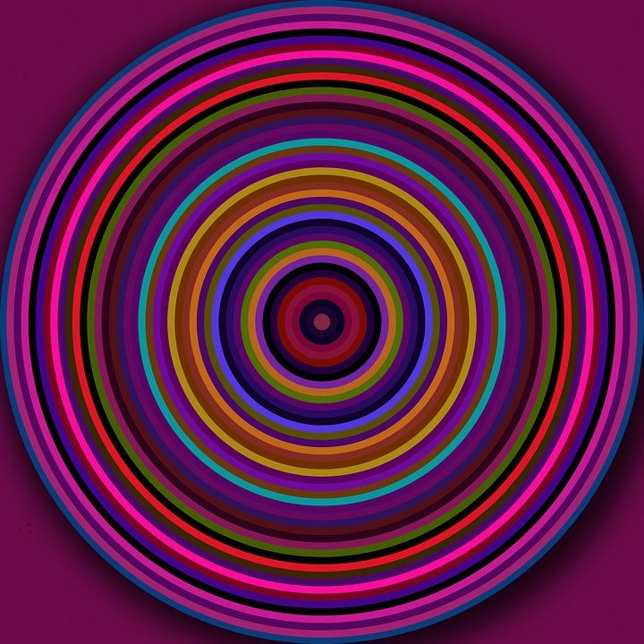 kostenlose illustration kreise rund ringe bunt muster kostenloses bild auf pixabay