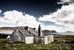 chata, ruina, irlandia