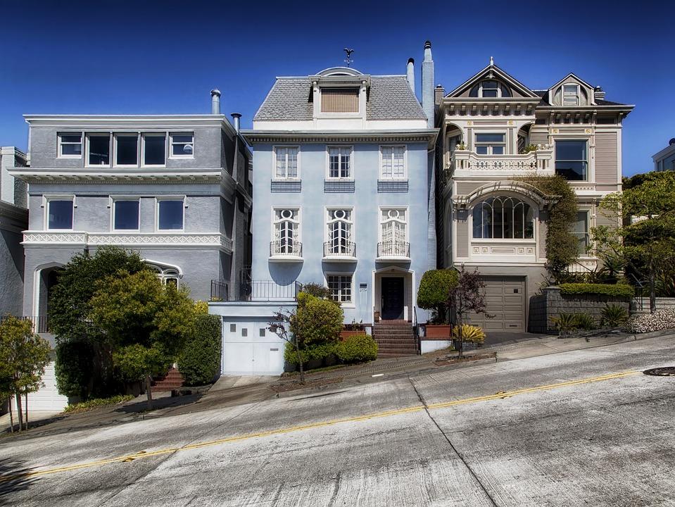 San Francisco, Californie, Maisons, Zone Résidentielle