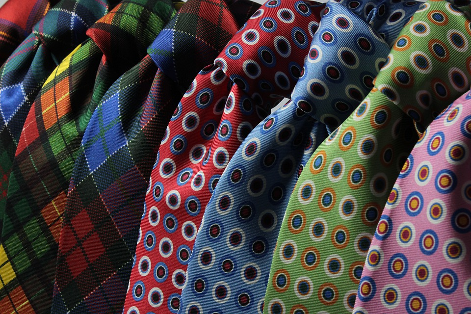 Neckties, Ties, Fashion, Clothing, Colorful Ties