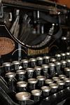 maszyna do pisania, list, czcionka