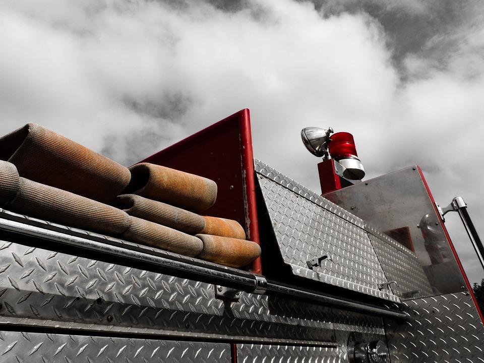 Fire, Engine, Fire Truck, Transportation, Truck