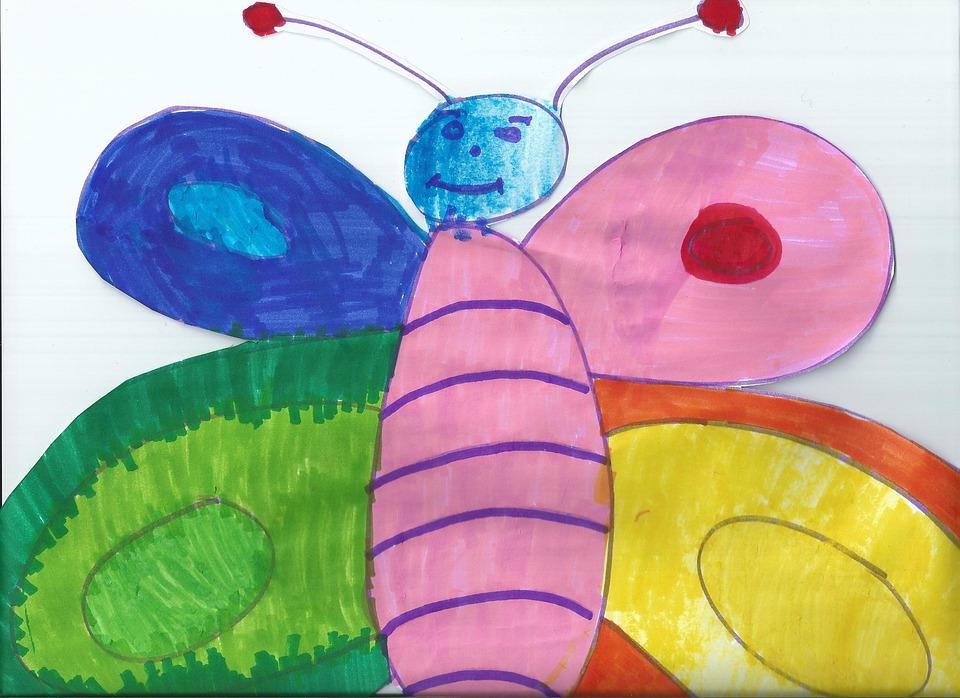 Photo gratuite dessin papillon couleurs image gratuite sur pixabay 212042 - Papillon dessin couleur ...
