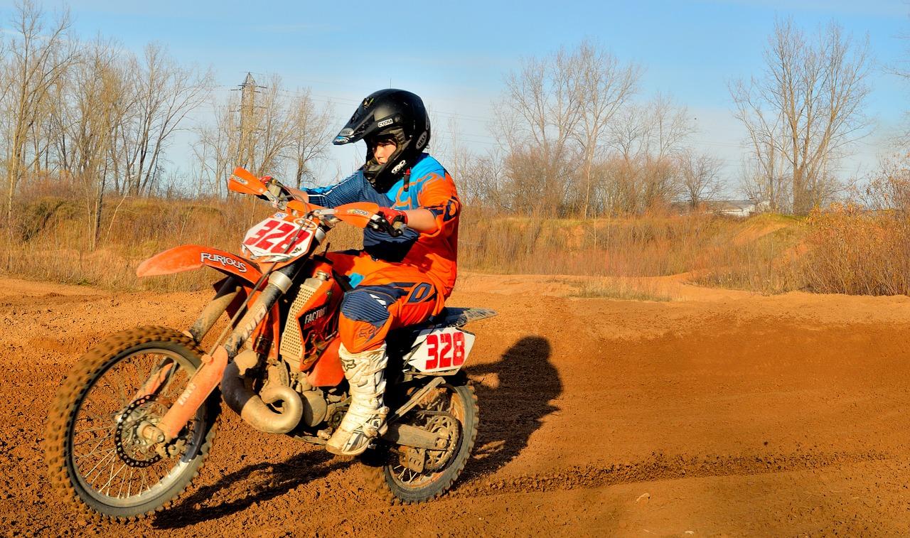 Dirt Bike Motorbike Biker