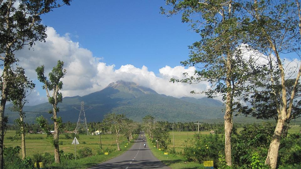 Roads, Woods, Mount Bulusan, Travel, Mountains, Hills