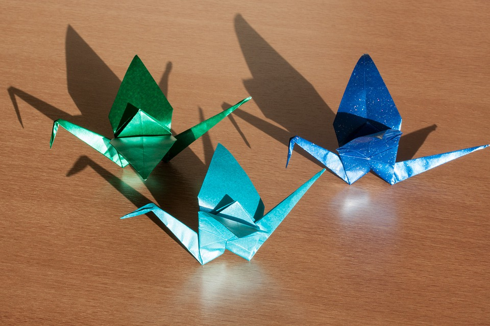 Origami Art Of Paper Folding Fold 3 Dimensional
