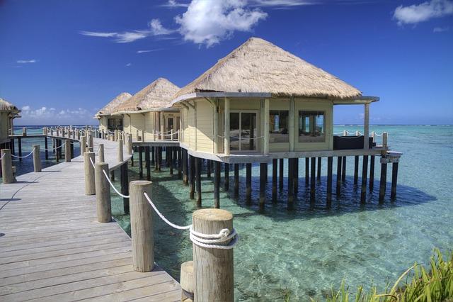 Free Photo: Samoa, Beach Hut, Ocean, Tropics