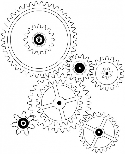 free illustration  cogs  cog  wheel  drawing  gear