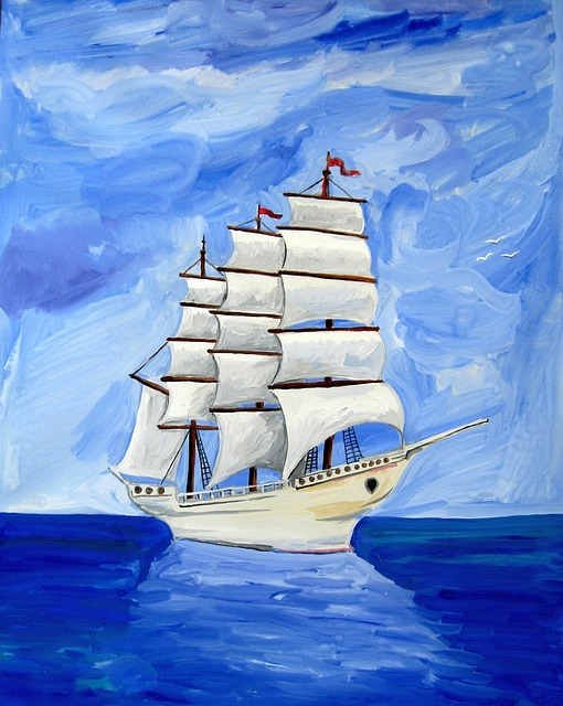 free illustration astronira sea sailing ship free