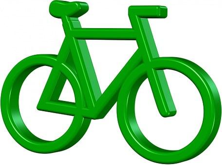 Vélo, Vert, Pédale, Enregistrer, Terre