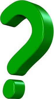 Question Mark Green Icon Doubt Unknow