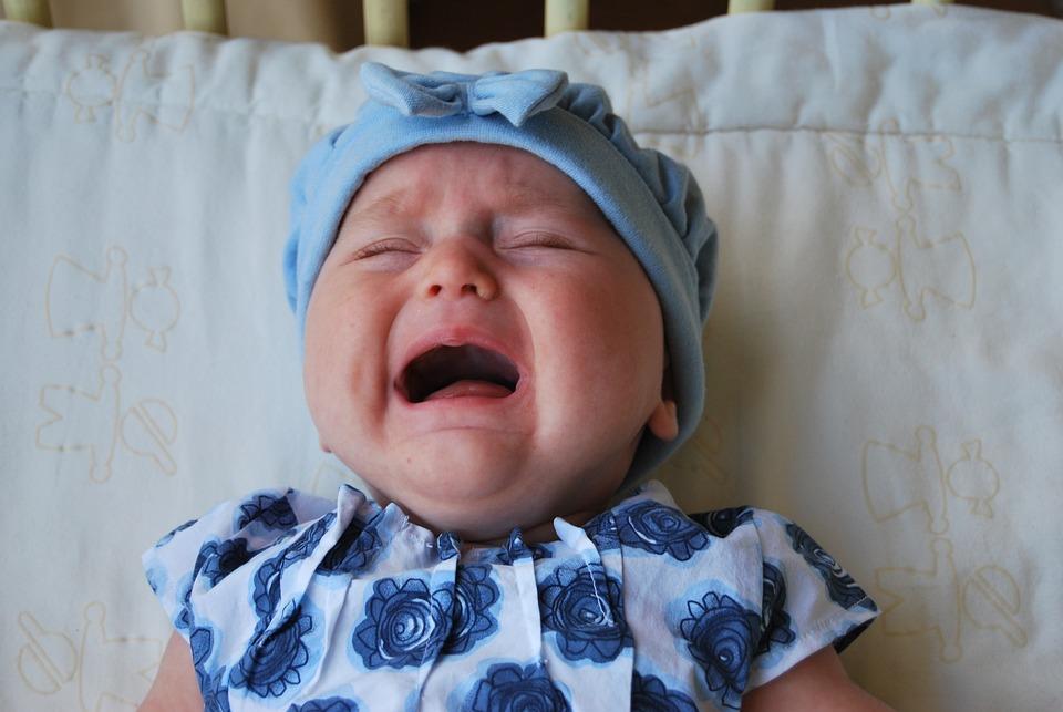 Baby, Weinen, Kind, Kleine, Trauer, Traurig