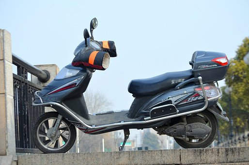 Scooter, Transportation, Bike