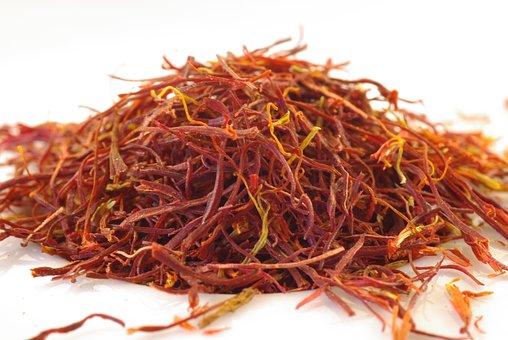 Saffron, Threads, Orange, Spice, Cook