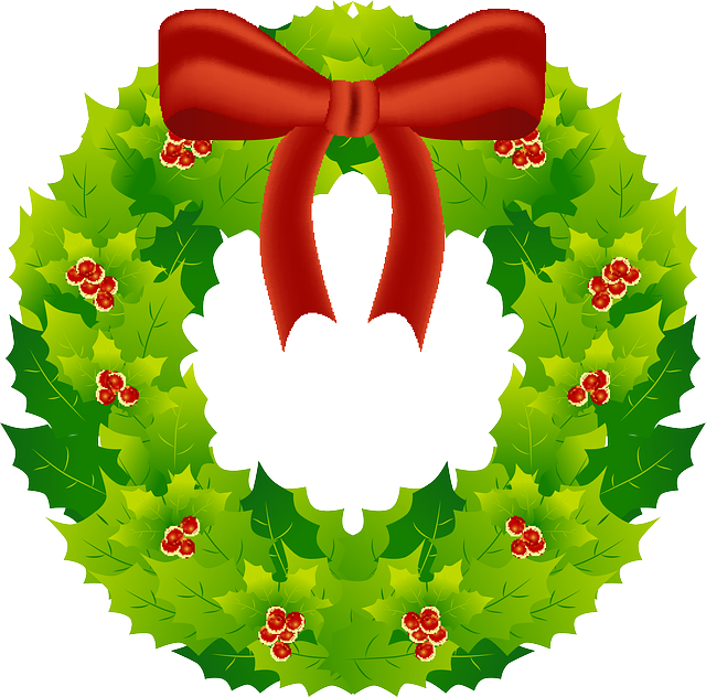 Free vector graphic: Wreath, Christmas, Decoration, Reed ...