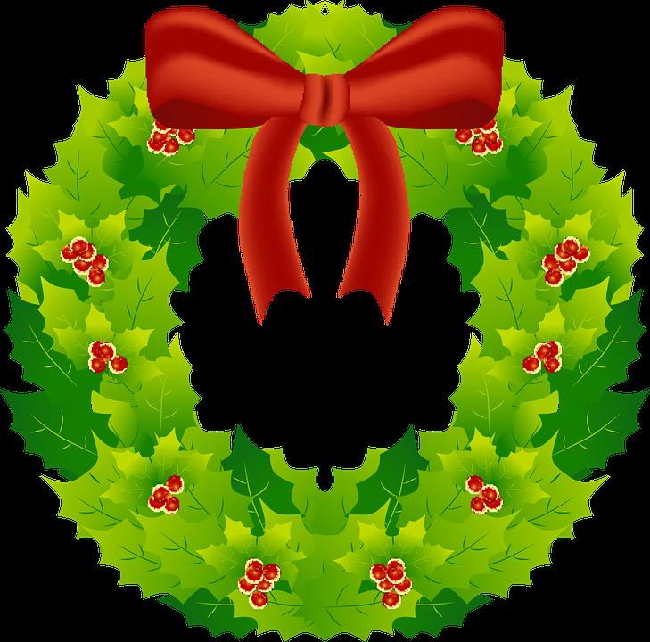 guirnalda navidad decoracin reed vacaciones - Guirnalda De Navidad