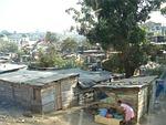 poverty, slum, shanty town