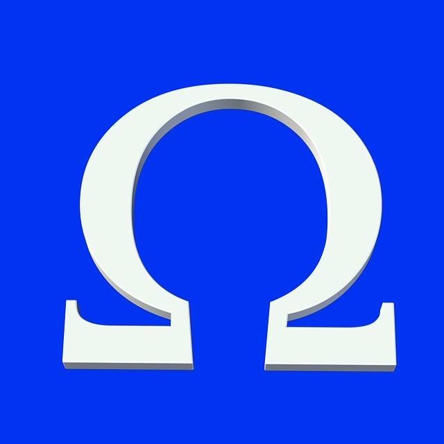Omega Symbol Icon Free Image On Pixabay