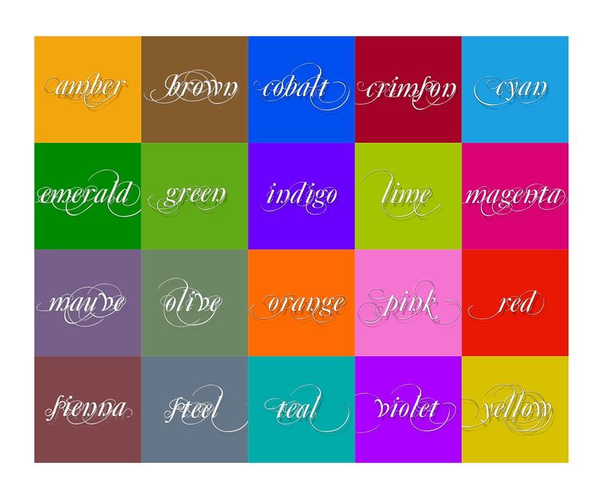 Farben farben und zahlen ihre ideen alle farben grau for Farben in der wohnung und ihre wirkung