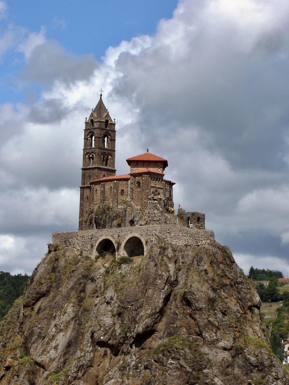 Architecte Le Puy En Velay puy di velay batu saint michel - foto gratis di pixabay