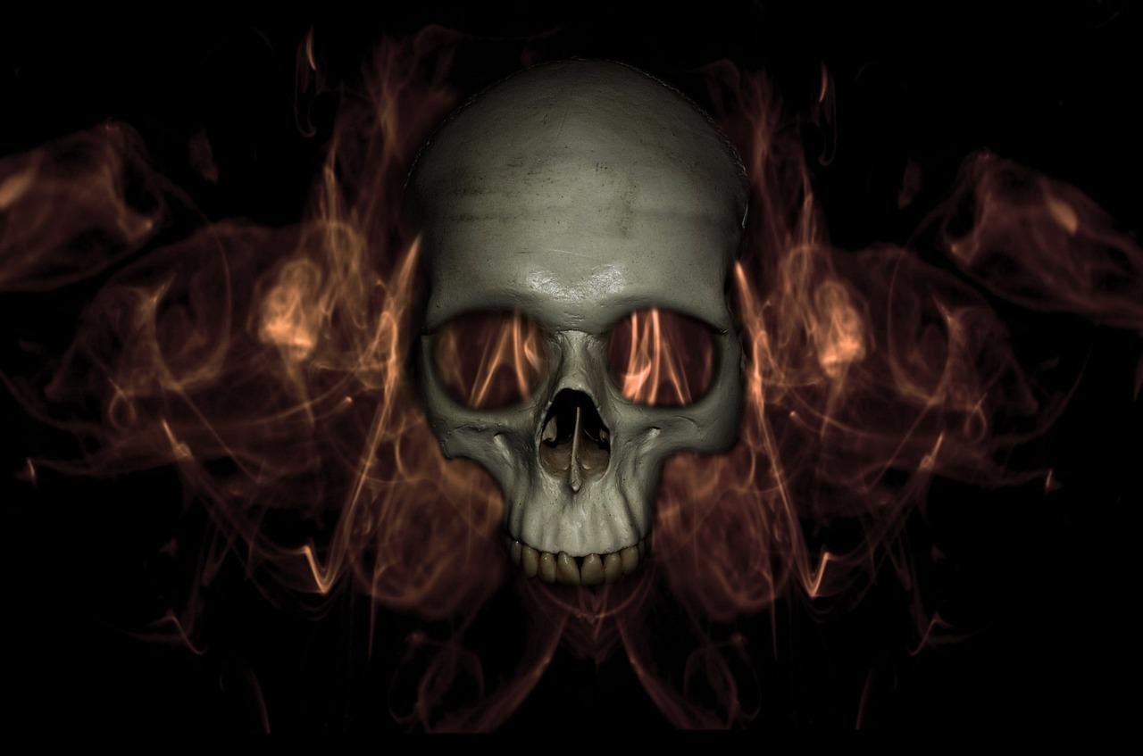 Картинки призрак череп выяснять отношения