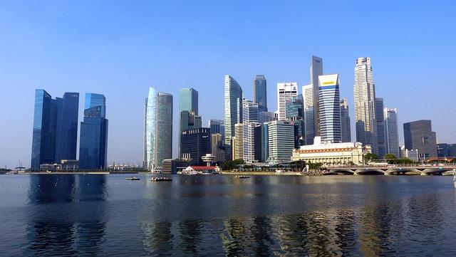 Singapore River Skyline 183 Free Photo On Pixabay