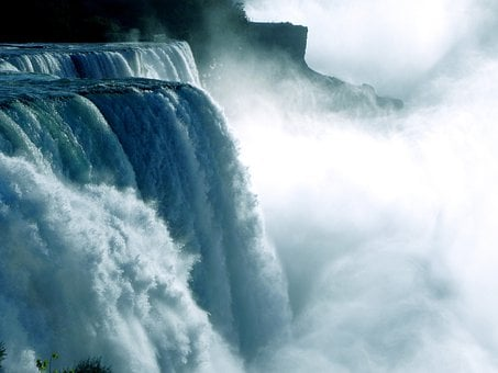 Niagara Falls, Waterfall, Water Power