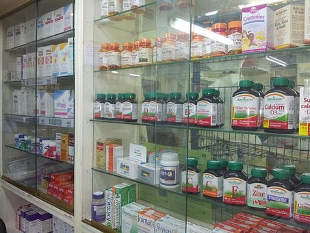 Pharmacy, Medicine, Food Supplement