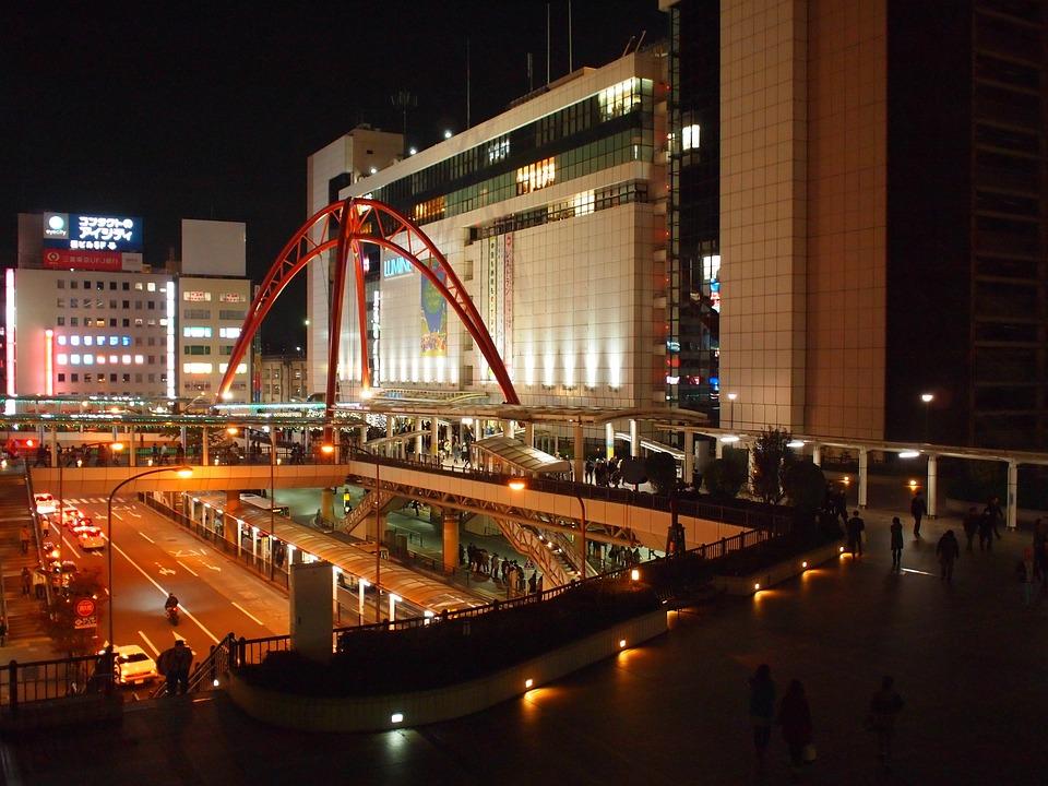 東京, 立川, 立川駅, 泊, アーキテクチャ, 市, 都市の景観, タワー, 建物, ランドマーク, 都市