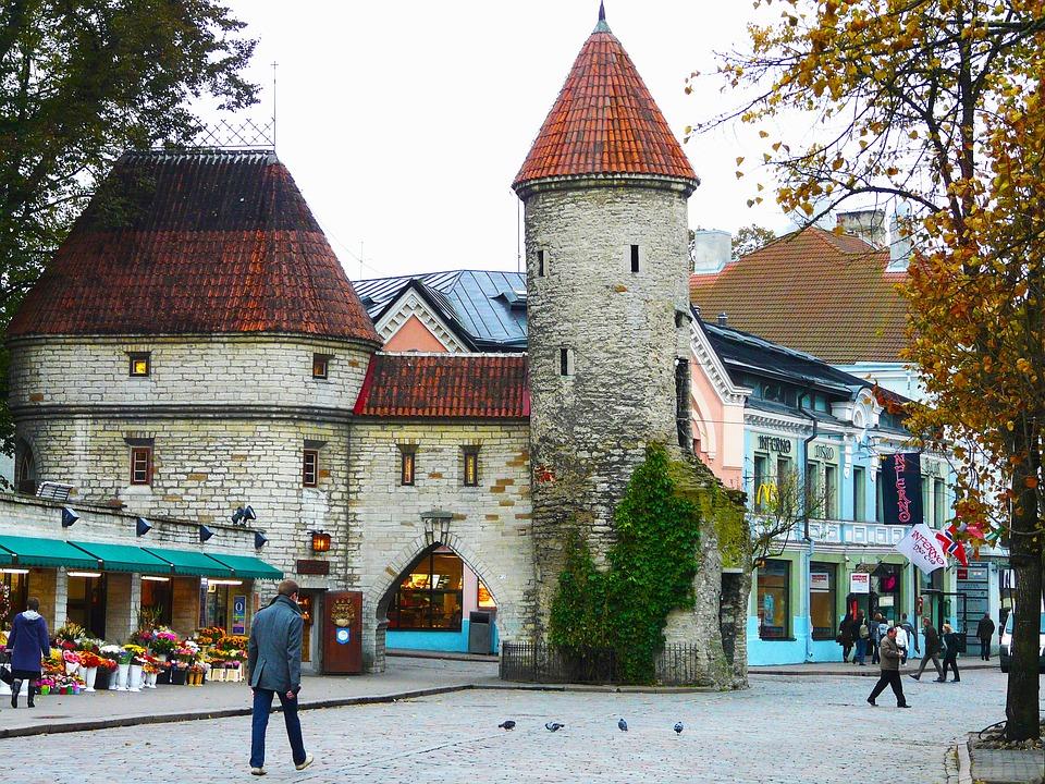 Old Town, Old Medieval Town, Tallinn, Estonia