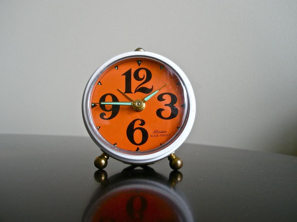 Alarm Clock, Manual Alarm Clock, Vintage, Alarm, Clock