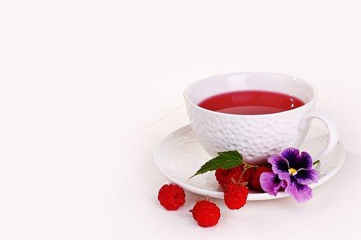 Mug, Raspberries, Berry, Tea, Drink