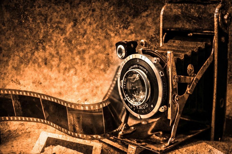 Cámara, Película, Vintage, Cámara De Cine, Antigua
