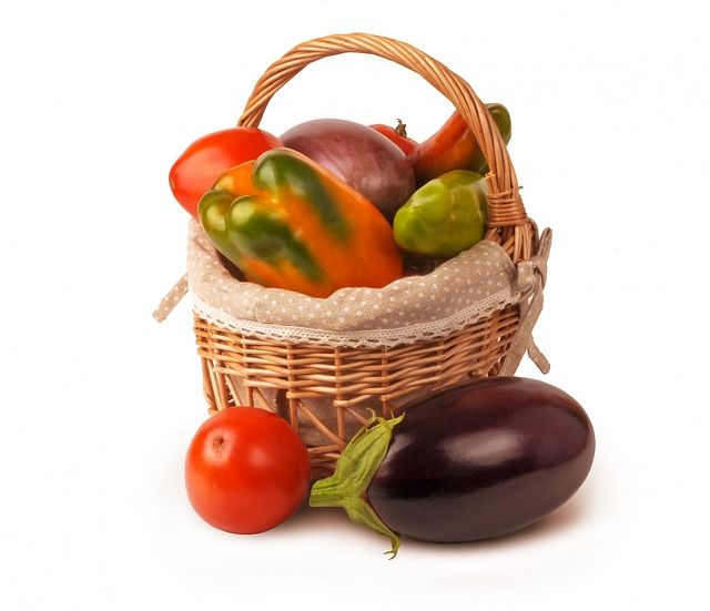 Free Photo Isolated Set Vegetables Basket Free Image
